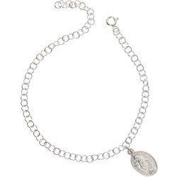 Bransoletka Zawierzenia Maryi - srebrny łańcuszek Niewolnictwa Maryi pr. 925 BNM06