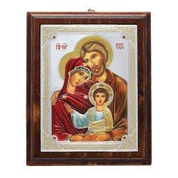 Ikona srebrna Święta Rodzina 31172LCDA