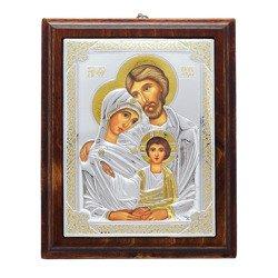 Ikona srebrna Święta Rodzina 31172LCOROA