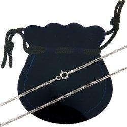 Łańcuszek srebrny rodowany pr. 925 lisi ogon (spiga)  SPIGA0254L