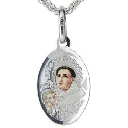 Medalik srebrny (1,6 g)  - Święty Antoni MK025