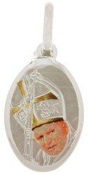 Medalik srebrny (1,6 g) - Święty Jan Paweł II MK019