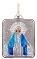Medalik srebrny (2,0 g) - Matka Boża Niepokalana Cudowny medalik MK017