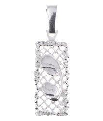 Medalik srebrny - Matka Boska z dzieciątkiem MO009