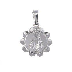 Medalik srebrny - Matki Bożej Niepokalanej Cudowny Medalik M012