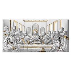 Obraz srebrny Ostatnia Wieczerza 81221ORO
