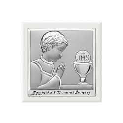 Obrazek Srebrny Pamiątka I Komunii 6568WO