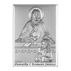 Obrazek Srebrny Pamiątka I Komunii 6595SBA