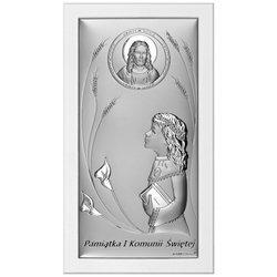 Obrazek Srebrny Pamiątka I Komunii 6683SW