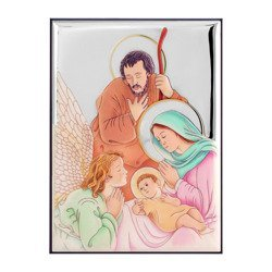 Obrazek Srebrny Święta Rodzina 30692CERA
