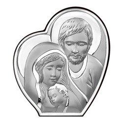 Obrazek Srebrny Święta Rodzina 6590
