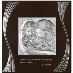 Obrazek Srebrny Święta Rodzina 6725F