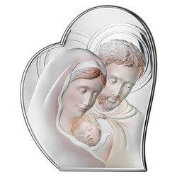 Obrazek Srebrny Święta Rodzina 81050COL