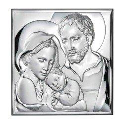 Obrazek Srebrny Święta Rodzina 81235