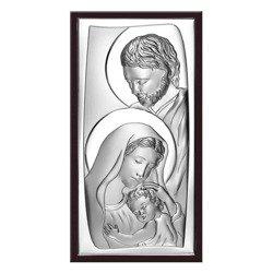 Obrazek Srebrny Święta Rodzina drewniana ramka Beltrami Gioelli 6547WM