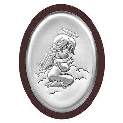 Obrazek srebrny Aniołek 6384WM