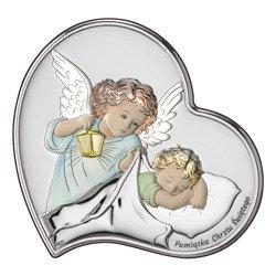 Obrazek srebrny Aniołek Twój Anioł Stróż DS17C