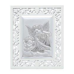 Obrazek srebrny Aniołek z latarenką 31120FBA
