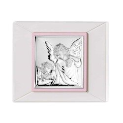 Obrazek srebrny Aniołek z latarenką 75021R