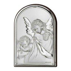 Obrazek srebrny Aniołek z latarenką 81223
