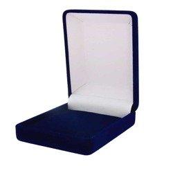 Pudełko flokowe niebieskie P7/FLOKNIEB