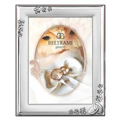 Ramka srebrna pamiątka ślubu/rocznicy 1189