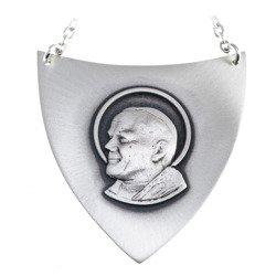 Ryngraf srebrny 925 Św. Jan Paweł II R05