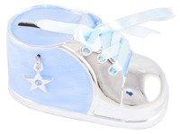 Skarbonka but niebieski z gwiazdką z masy perłowej