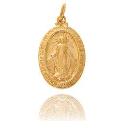 Złoty medalik pr. 585 Cudowny M.B. Niepokalana ZM114