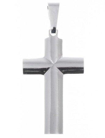 Krzyż srebrny z wizerunkiem Jezusa O119