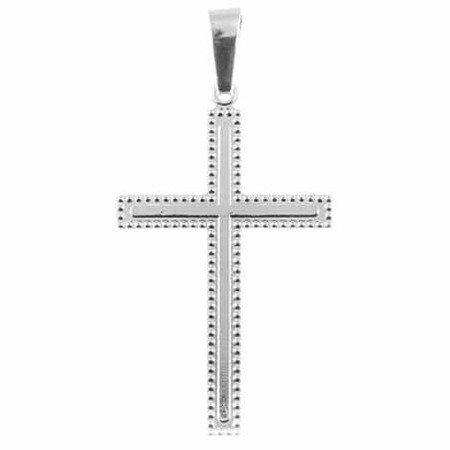 Krzyżyk srebrny M122