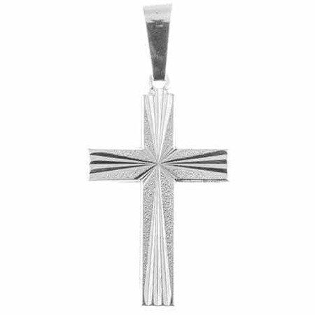 Krzyżyk srebrny M134