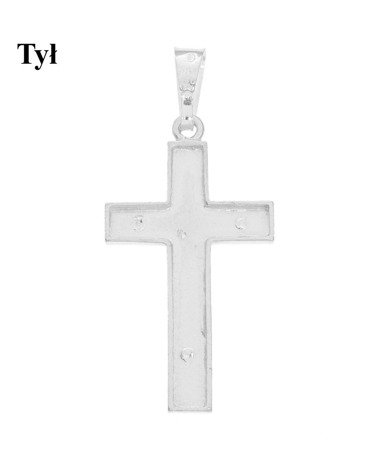 Krzyżyk srebrny MO145
