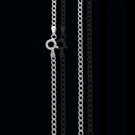 Łańcuszek srebrny pr. 925 pancerka 2,5 mm 0,50 mm L60GRF6