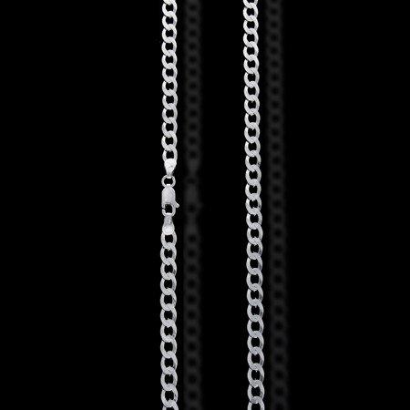 Łańcuszek srebrny pr. 925 pancerka 4,5 mm 1 mm GZP100 6L
