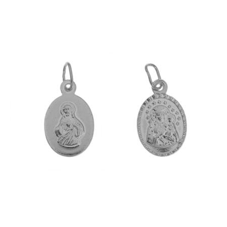 Medalik srebrny - Matka Boża ML018