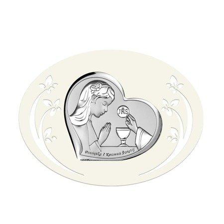 Obrazek Srebrny Pamiątka I Komunii 6517PA