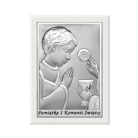 Obrazek Srebrny Pamiątka I Komunii 6570OW