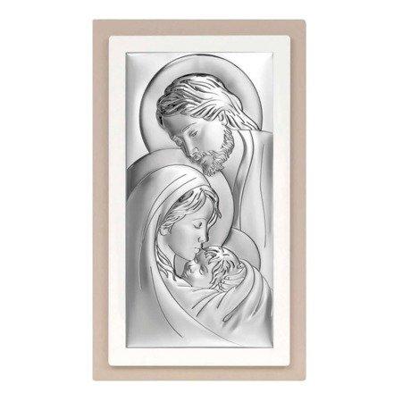 Obrazek Srebrny Święta Rodzina ramka 6380TP