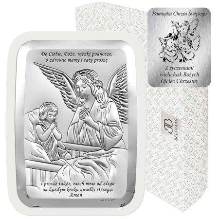 Obrazek srebrny Anioł Stróż 6508SW