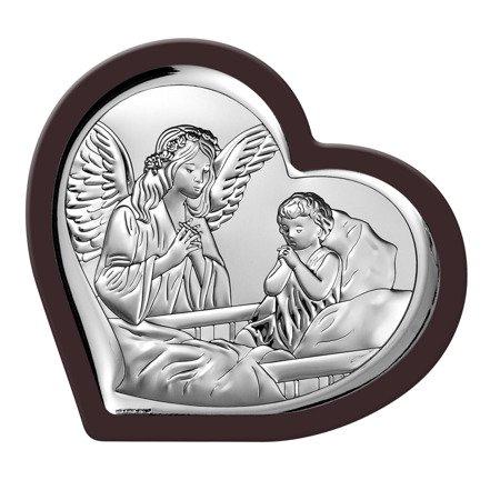 Obrazek srebrny Anioł Stróż 6512WM