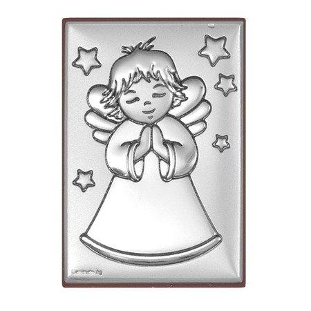 Obrazek srebrny Aniołek 6352