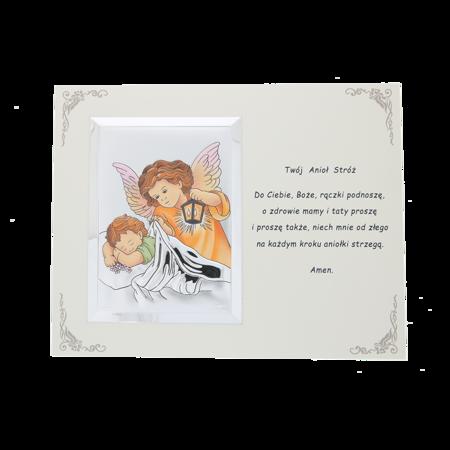 Obrazek srebrny Twój Anioł Stróż  BP131121CER