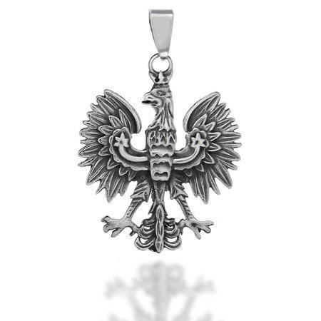 Przywieszka Patriotyczna z Orłem w koronie 3,5 cm