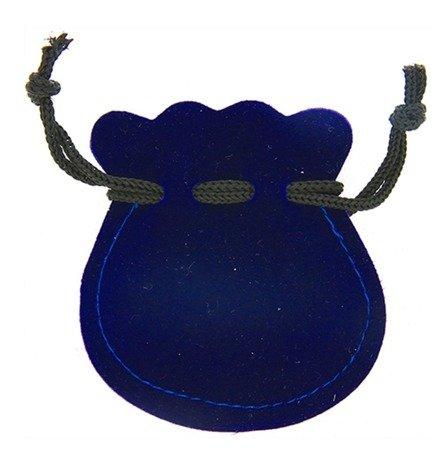 Pudełko woreczek ściągany 60x65 mm kolor niebieski P1/NIEB PUDEŁKO