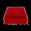 Pudełko flokowe czerwone P8/FLOKCZERW